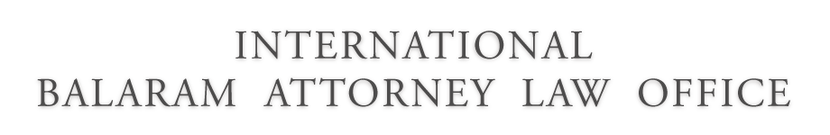 INTERNATIONAL BALARAM ATTORNEY LAW OFFICE